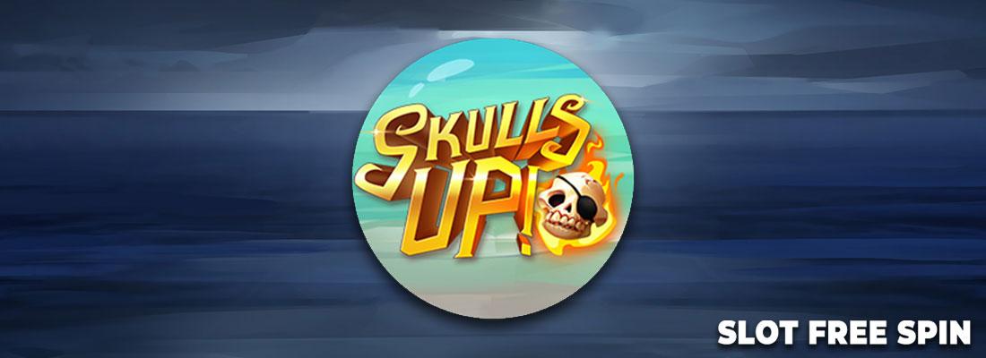 Skulls Up slot Banner