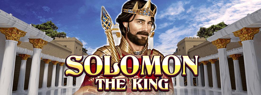Solomon the king slot banner canada