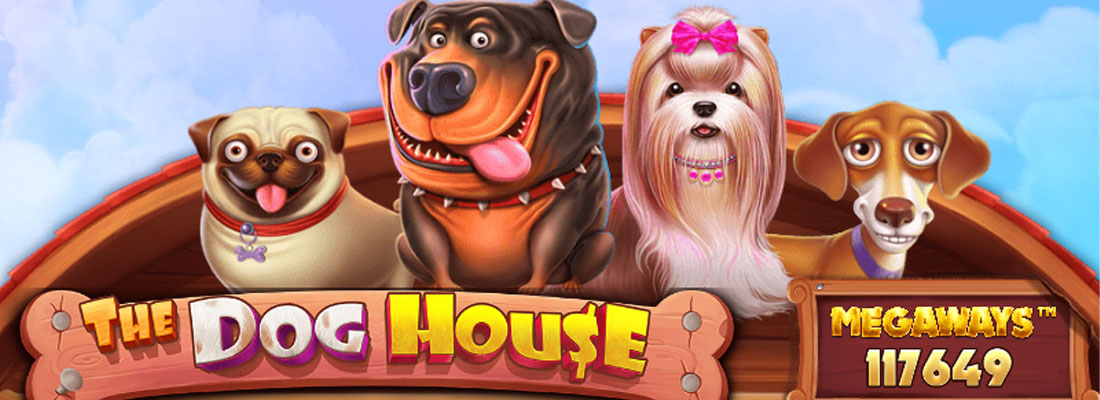 Dog House Megaways slot banner