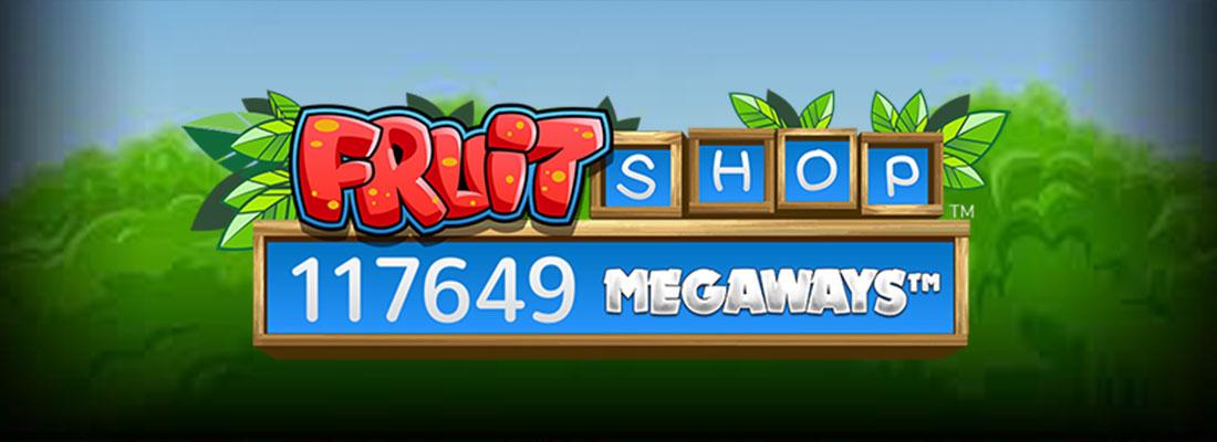 Fruit Shop Megaways Slot Banner