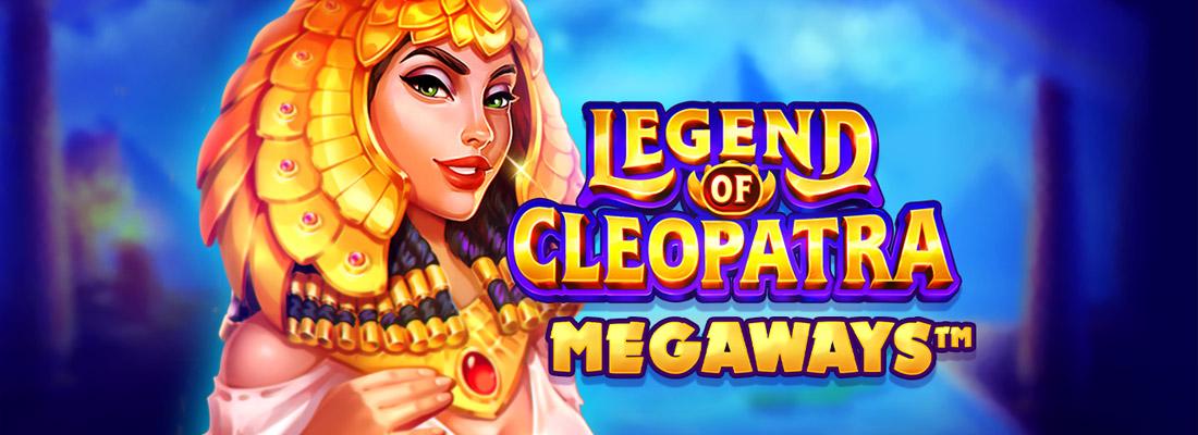 Legend of Cleopatra Megaways Slot Banner