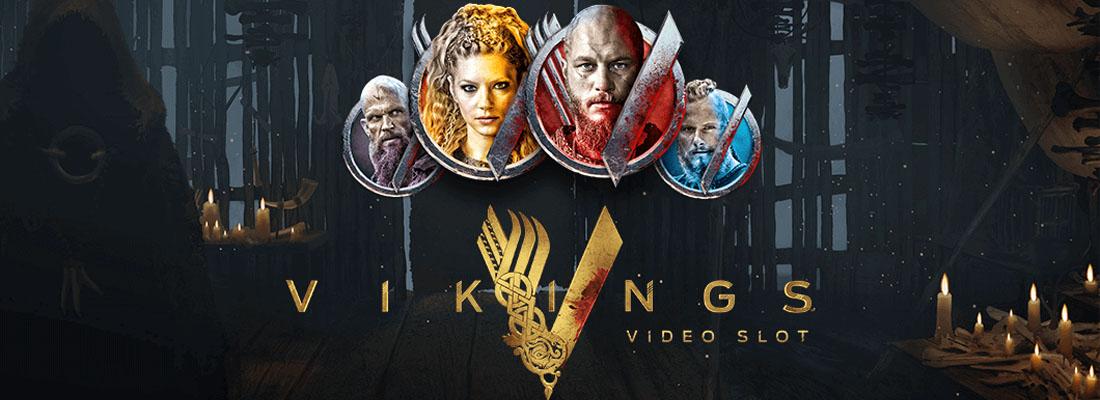 Vikings Video Slot Banner