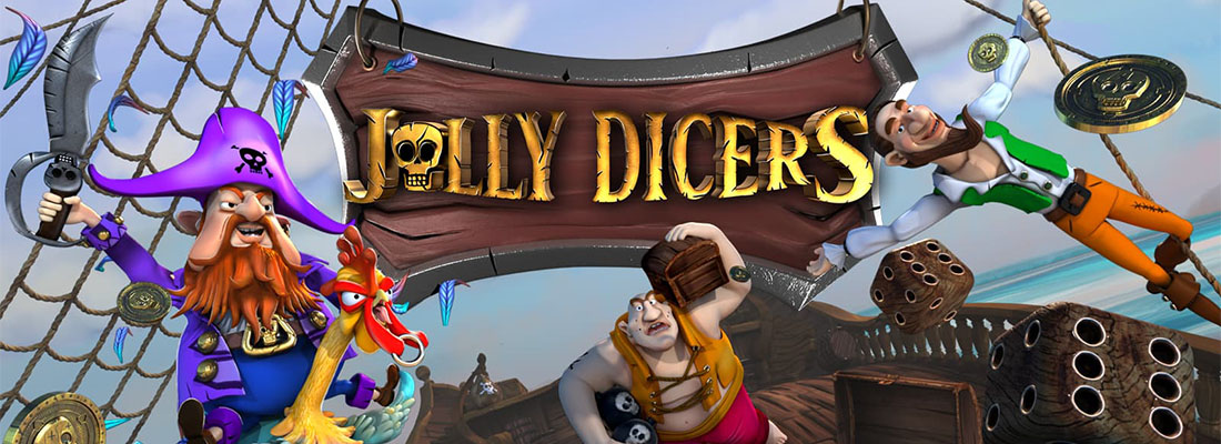 jolly Dicers slot banner
