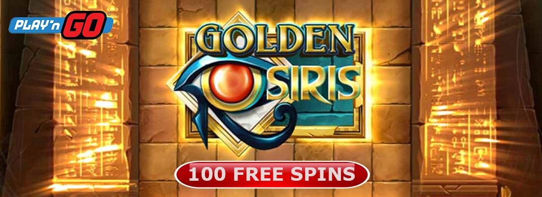 Golden Osiris Slot Banner Canada