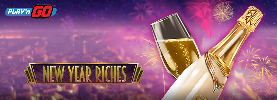 New YEar Riches Slot Banner Canada