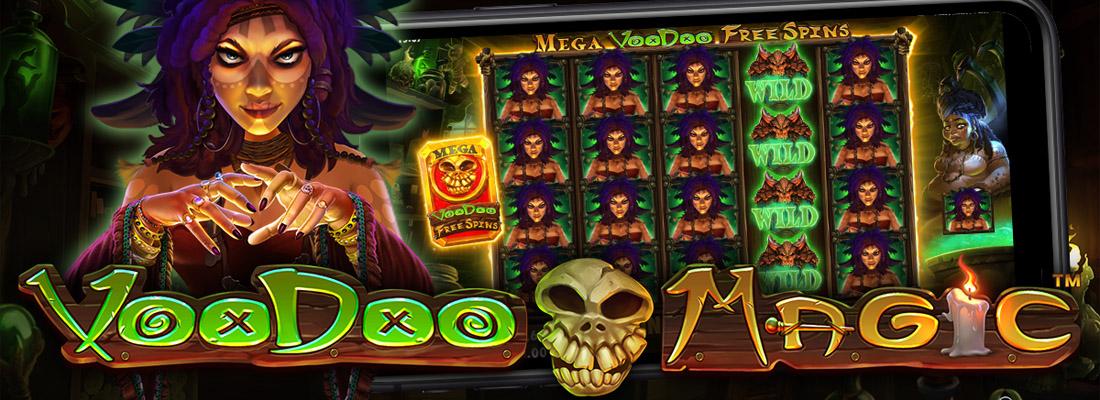 Voodoo Magic Slot Banner