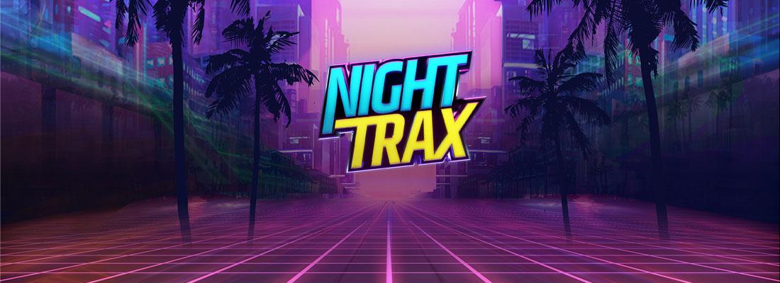 Night Trax slot banner